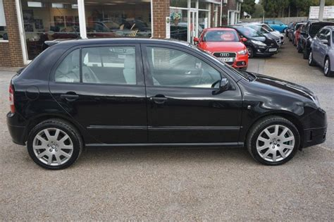 skoda fabia vrs diesel used 2006 skoda fabia vrs tdi 5dr for sale in west sussex