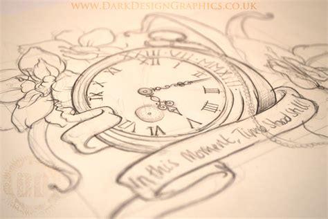 tattoo flash watch pocket watch tattoo flash