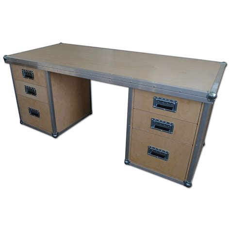 Office Desk With Drawers Serious 6 Drawer Office Desk
