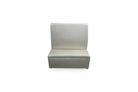 high back banquette high back straight banquette white lux lounge efr 888