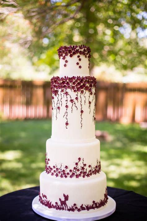 pin  cakesdecorcom  wedding cakes burgundy wedding cake wedding burgundy wedding