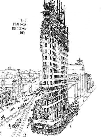flatiron building floor plan flatiron building data photos plans wikiarquitectura