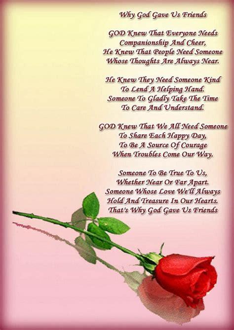 beautiful  cool friendship poems
