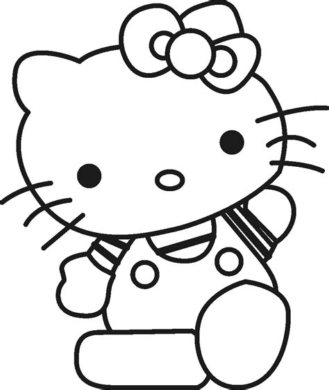 All Hello Kitty Coloring Pages Colouring Pages Free