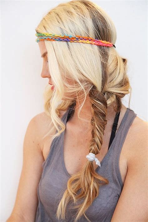 cute hairstyles headband braid 50 cute braided hairstyles for long hair