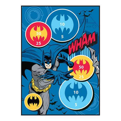Dc Comics Batman Game Rug Home Bed Bath Bedding Rugs Dc