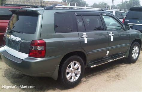 Toyota Highlander For Sale In Nigeria 2006 Toyota Highlander Clean Auction Highlander Used Car