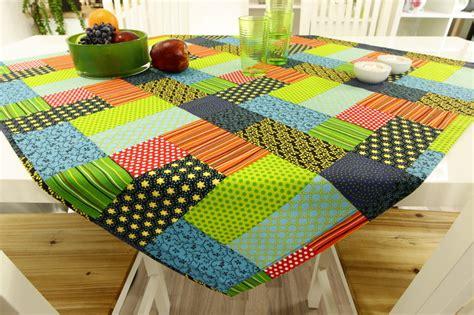 tischdecke in patchwork design bunt ab 80x80 cm bis