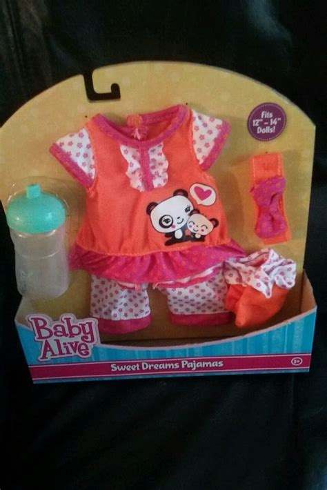In The Bottle By Maxcyber Cloth sale baby alive clothes fashion set sweet