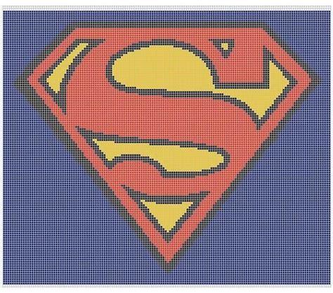 superman logo crochet pattern superman crochet patterns and afghans on pinterest