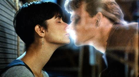 Ghost Film Kiss | 50 best movie kisses of all time revealed including