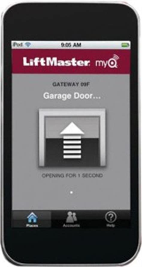 your garage door from anywhere in the world using