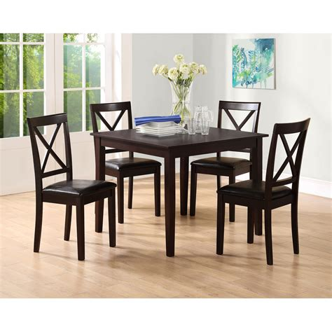 Dining Room Chairs Kmart Essential Home Sydney 5 Pc Dining Set