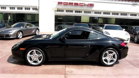 Pre Owned Porsche Cayman by 2009 Porsche Cayman Pdk Black On Black Cpo Youtube