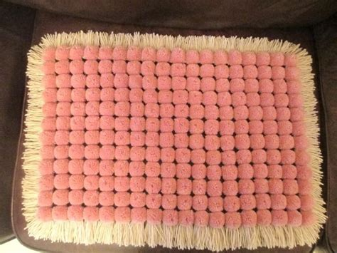 how to knit pom pom blanket 38 best images about crafts miscellaneous on