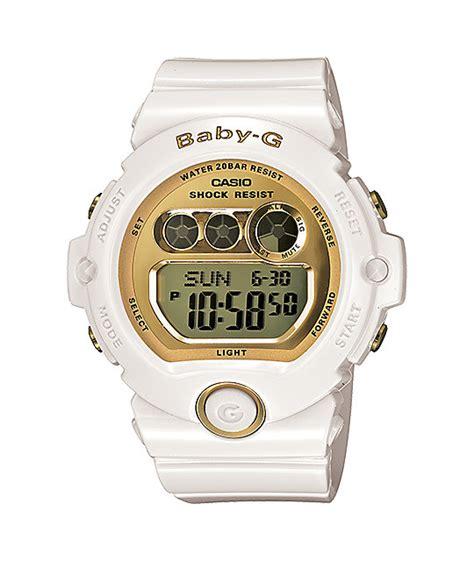 g shock bg6901 7 baby g glossy white gold