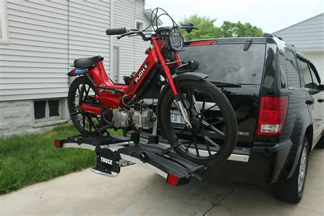 Thule 9032 Easyfold Carrier thule easyfold 9032 bike carrier gear review busted wallet