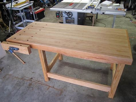 maple work bench maple workbench by milbert lumberjocks com