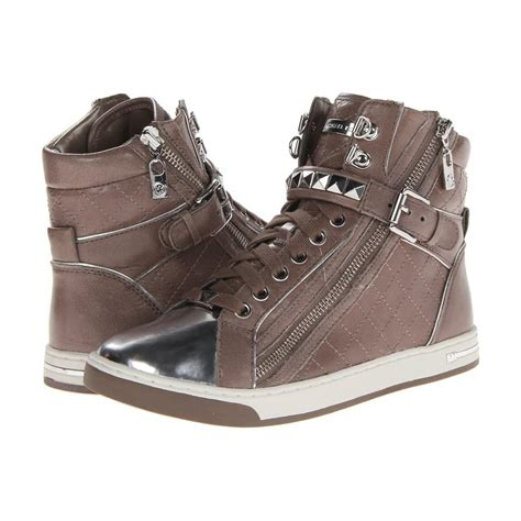 womens high top athletic shoes michael michael kors women s glam studded high top