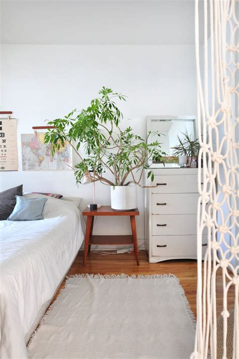 Modern Nightstands House Tour Sweet Small Space With A Retro Scandi Modern