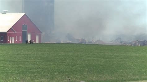 Barn Kitchener by Perth County Barn Destroyed By Second Barn Saved Ctv Kitchener News