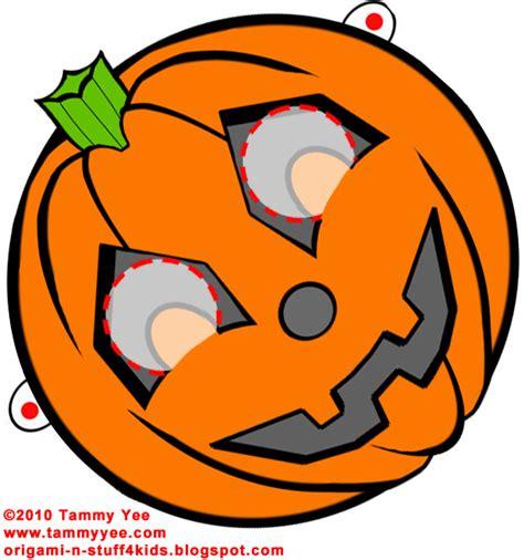 printable pumpkin mask origami n stuff 4 kids halloween pumpkin mask