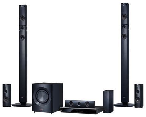 lg 1460w 3d smart home theater system black