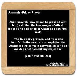 hadith on jummah friday prayer sahih muslim 233 e