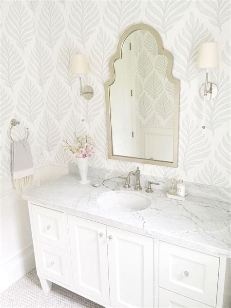 white and silver bathroom designs home sweet home on pinterest tropical palm beach and