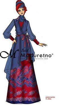 design batik maduretno desain baju pesta muslimah fashion design pinterest