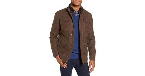 Sale Gucci 3in1 Ln6118 lyst w r k 3 in 1 waxed cotton jacket with removable vest in brown for