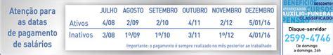 calendario de pagos ao 2015 mef peru conex 227 o servidor p 250 blico servidor da prefeitura do rio