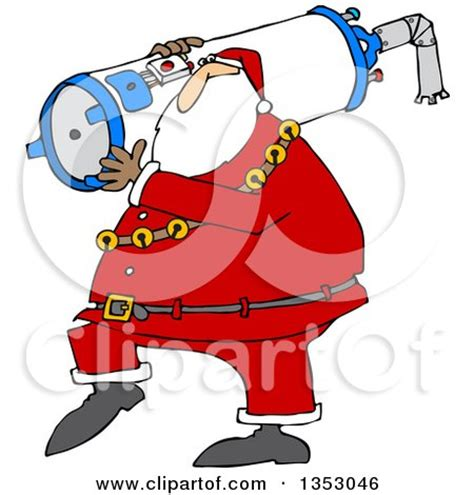 Santa Plumbing by Clipart Outlined With A Plunger A Clogged Toilet