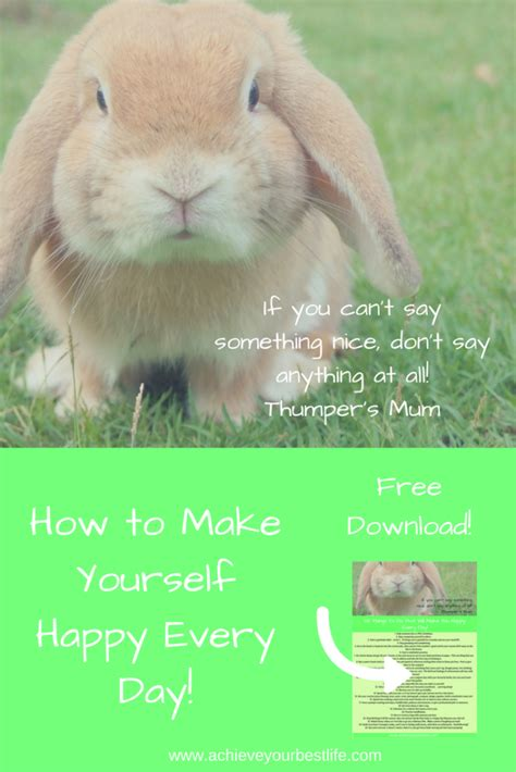 How To Make Yourself Happy how to make yourself happy everyday achieve your best