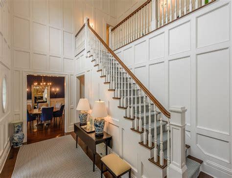 paneled foyer design ideas traditional shingle style home in bridgehton ny