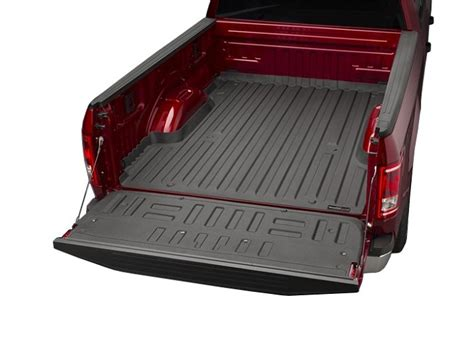 weathertech bed liner 2015 2016 f150 weathertech black techliner bed tailgate