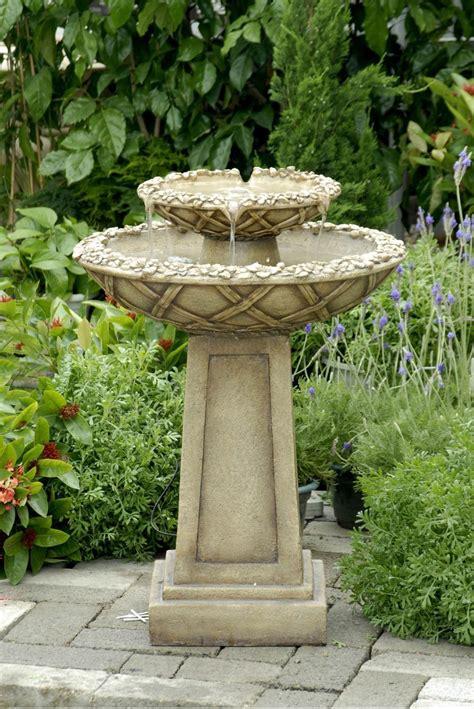 outdoor fountain ideas bird bath 1619 hostelgarden net