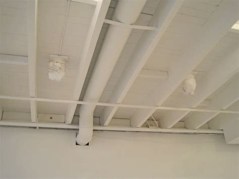 White Ceiling Beams by Exposed Beam White Ceiling Ideas
