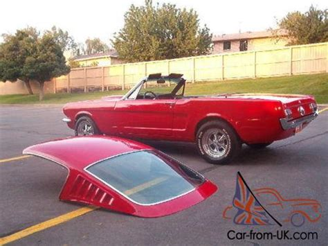 mustang conversions mustang fastback convertible roof conversion 1965 1966