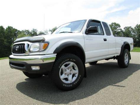 2003 Toyota Tacoma For Sale Sell Used 2003 Toyota Tacoma 1 Owner 87k Original