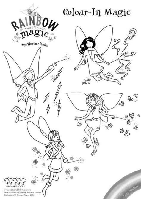 Free Coloring Pages Rainbow Magic | Rainbow magic, Rainbow