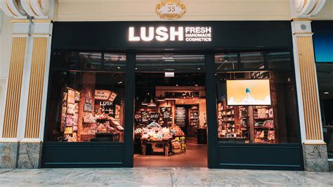 breitling store opens in manchester s trafford centre manchester trafford lush fresh handmade cosmetics uk