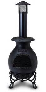 chiminea homebase iron chiminea