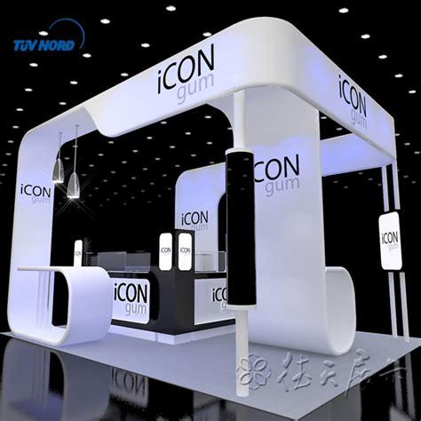 design meja booth detian menawarkan peralatan pameran berdiri kios dan