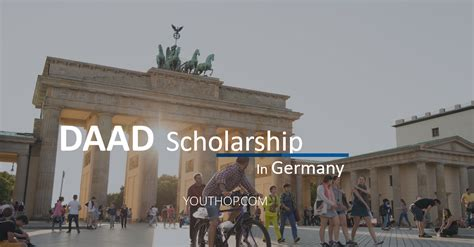 Daad Scholarship For Mba In Germany by Daad Scholarship Programme 2017 In Germany Youth