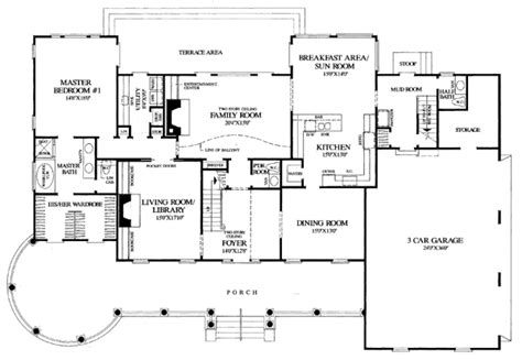 Southern Plantation Floor Plans Colonial Farmhouse Plantation Southern House Plan 86192