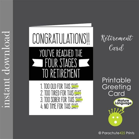 printable retirement jokes the 25 best funny retirement cards ideas on pinterest