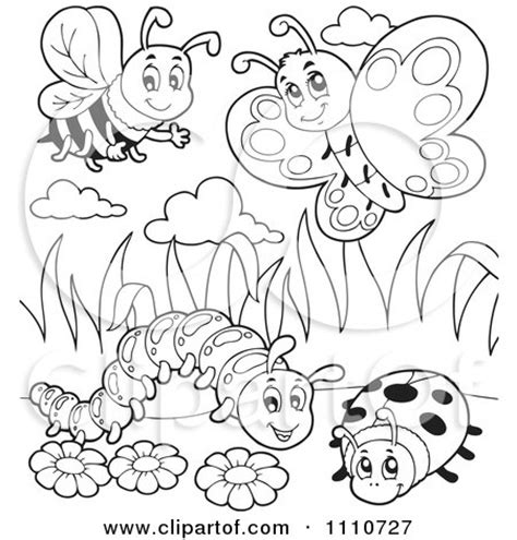 coloring pictures of butterflies and ladybugs ladybug flower butterfly coloring pages coloring pages