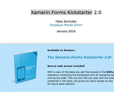 tutorial xamarin pdf เร ยนร xamarin forms จากเว บ kickstarter xamarin in th