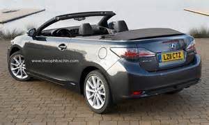 Lexus Es Convertible Lexus Ct 200h Convertible Rear